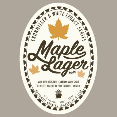 Cronmiller & White Maple Lager